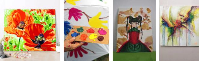 Como Pintar Con Acrílicotrucos Y Consejos 2019