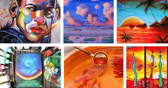 ¿Como pintar con acrílico? Consejos 2019