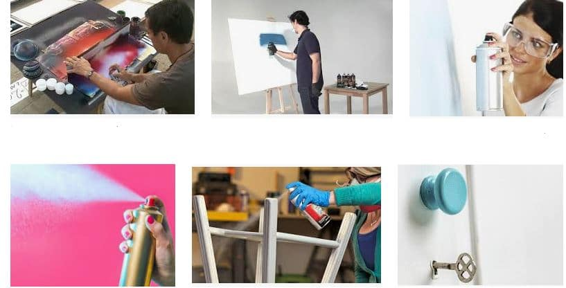 ¿Como pintar con aerosol?
