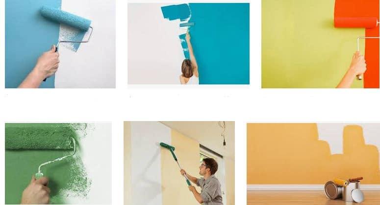 ¿Como pintar con rodillo?