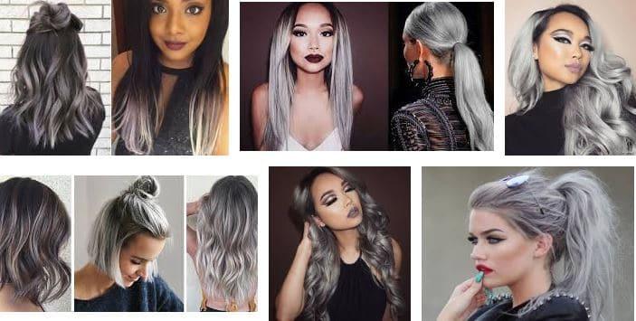 ¿Como pintar el cabello gris?