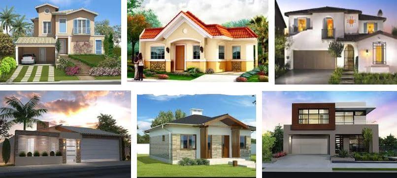 ¿Como pintar fachadas de casas?