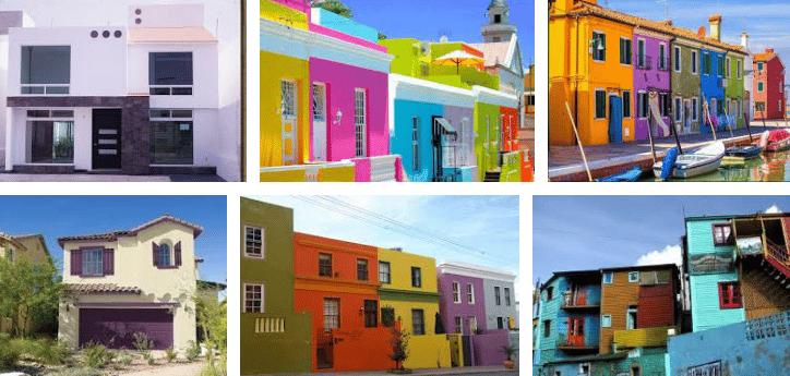 ¿Como pintar una casa?