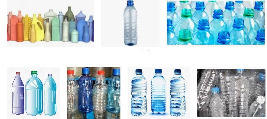 ¿Como pintar botellas de plástico?