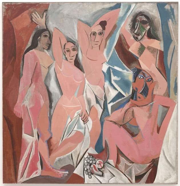 Las damiselas de Avignon 1907 - Etapa africana o primitivista
