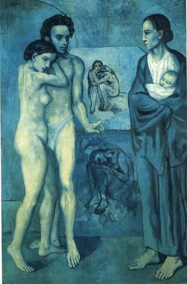 La vida 1903 - Etapa azul
